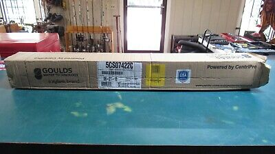 5cs07422c Goulds 5gpm 34 Hp Submersible Water Well Pump 230v 2 Wire Free Ship