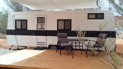 Renovated self-contained caravan for rent on rural block