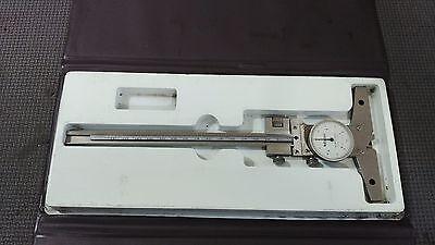 Mitutoyo 0 - 150mm Dial Depth Vernier 0.05mm (Lot.463)