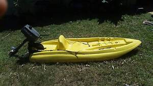 Kayak with 2hp yamaha outboard Rosebery Palmerston Area Preview