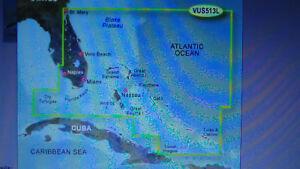 Bluechart G2 VISION VUS513L MARINE MAP ON SD JACKSONVILL-BAHAMAS FOR GARMIN GPS