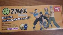 Zumba Fitness Kit-6 Workouts 4 DVDS+2 Stonning Sticks + 2 Gifts Point Cook Wyndham Area Preview