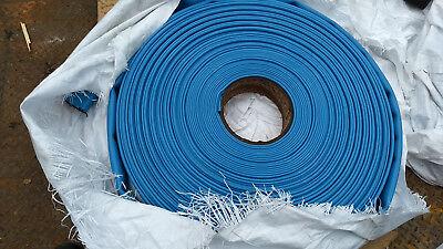 Contitech Spiraflex Blue Pvc 2 Id 80 Psi Water Discharge Hose Lay Flat 300