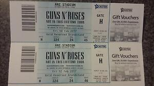Guns 'N Roses Tickets Abermain Cessnock Area Preview