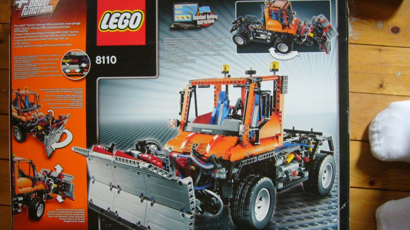 Spriegel schwarz für Unimog U400 #8110 NEU Lego Technic Technik Plane