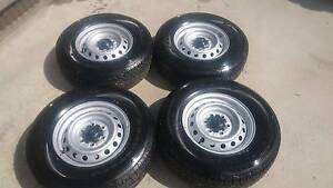 "Mazda BT-50 4x4 XT 16"" Steel Wheels & Tyres Nar Nar Goon Cardinia Area Preview"
