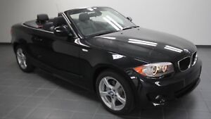 2012 Blk Convertible 128i BMW 2 dr 25,000kms