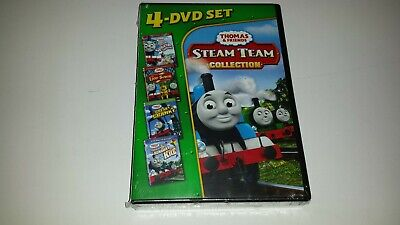 Thomas Friends: Steam Team Collection (DVD, 2011, 4-Disc Set) (FACTORY SEALED)