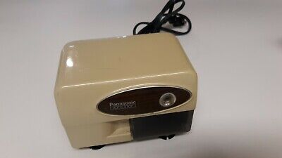 Vtg Panasonic Auto Stop Electric Pencil Sharpener Kp-310 Tested Works