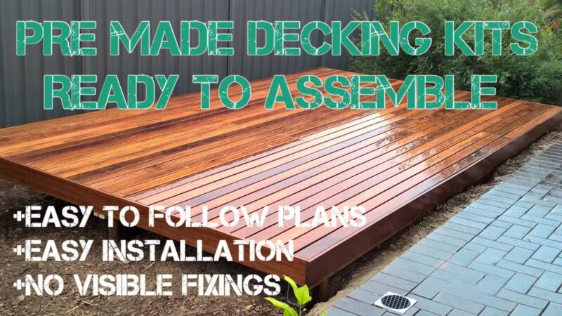 Softwoods Merbau Pre Made Deck 3 900 X 2 940 Plus Other Sizes