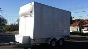 PANTECH  ENCLOSED FURNITURE MOTORBIKE CAMPER BOX TRAILER 3.5T Lugarno Hurstville Area Preview