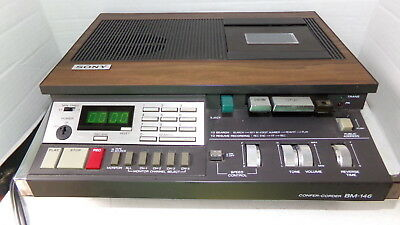 Sony Confer-corder Bm-146 Vintage Transcriber Recorder Ships Free