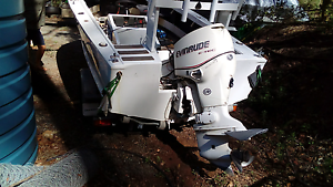 90hp etec outboard Bethania Logan Area Preview