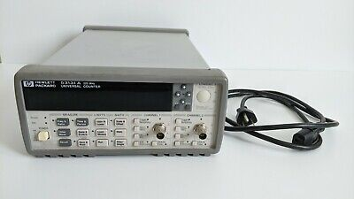 Hp Agilent 53131a 225mhz Universal Frequency Counter Timer Fully Serviced