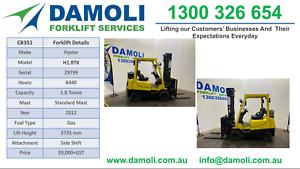 Hyster Forklift 1.8 tonne For Sale - 170 forklifts to choose from Laverton North Wyndham Area Preview