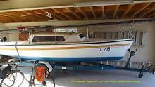 TRAILER SAILER Timpenny 670 6.7m $14,500, new mast, 8hpOB Prahran Stonnington Area Preview