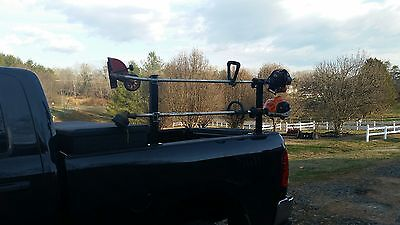 New Pair of WeedEater Gas Trimmer Rack Holders Holds Two. USA MADE!!..Not China!