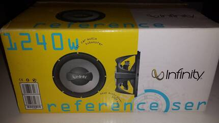 """Infinity Reference 1240w 12"""" 4-ohm subwoofer not Alpine Pioneer Westmead Parramatta Area Preview"""