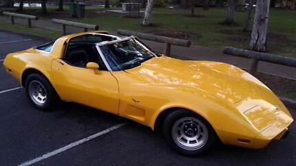 1978 Chevrolet Corvette Targa Cuope Broadbeach Gold Coast City Preview