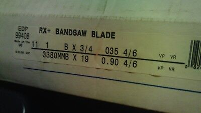 Lenox Rx Bandsaw Blade 11 1 X 34 .035 46