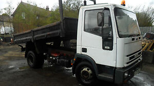 ford iveco 75e15 7.5 ton tipper, engine knocking