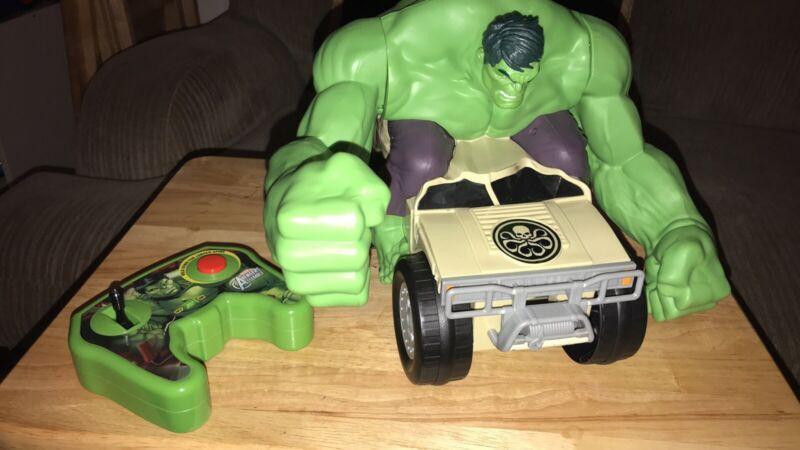 Marvel Avengers Xpv Remote Control Incredible Hulk Smash Remote Control Car