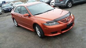 2004 Mazda 6 sport certified etested very low kms