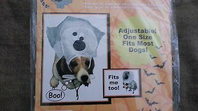 New In Package  Dog or Cat Pet Halloween Costume White Goofy Ghost by Fur - Ghost Cat Kostüm