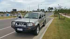 2003 Dual Cab Diesel Nissan Navara ST-R 4x4 Ute Heidelberg Banyule Area Preview