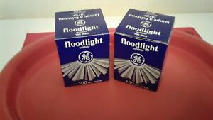 100 Watt Outdoor Floodlights, $5.00 each or $8.00 for pair