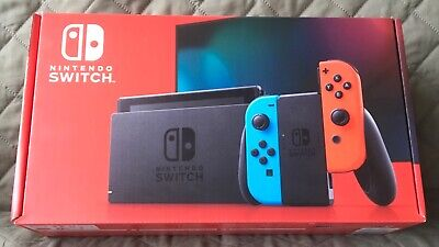 NINTENDO SWITCH 32 GB Console - Neon Blue/Red Joy-Con - NEW - IN HAND!!! 🔥🔥🔥