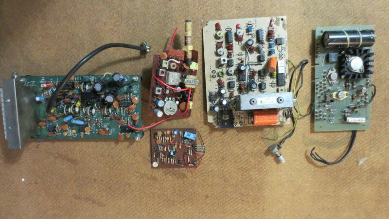 Radio Circuit board Lot Vintage Electronic
