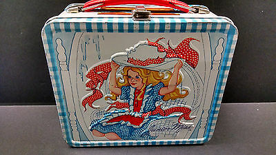 Vintage 1973 Junior Miss Metal Lunchbox & Thermos excellent scarce