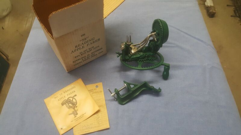 Vintage Sterling Withers Reading Apple Parer 78. New in Original Box