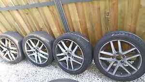 Honda accord euro wheels *dipped white* Blacktown Blacktown Area Preview
