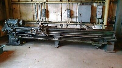 Reed-prentice 16 X 144 Metal Lathe With Taper Attachment 4-jaw Chuck