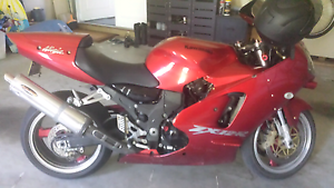 Zx12r 2000mod unrestricted ninja super sport Maryland Newcastle Area Preview