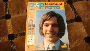 POPFOTO  TEENBEAT vintage european music magazine from 1969 Excellent Condition