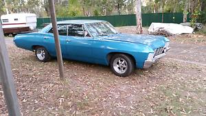 67 Big Block chev Impala. 4 door pillar less $14;900.00 o.n.o Chambers Flat Logan Area Preview