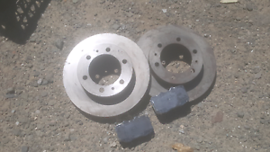 Toyota hilux 4x4 pair new brake discs with pads Crows Nest North Sydney Area Preview