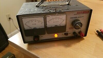 Vintage Eico 1025 Solid State Power Supply