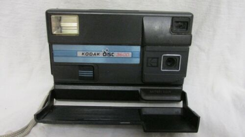 VINTAGE 1980s KODAK DISC 3600 CAMERA WITH FILM INSIDE