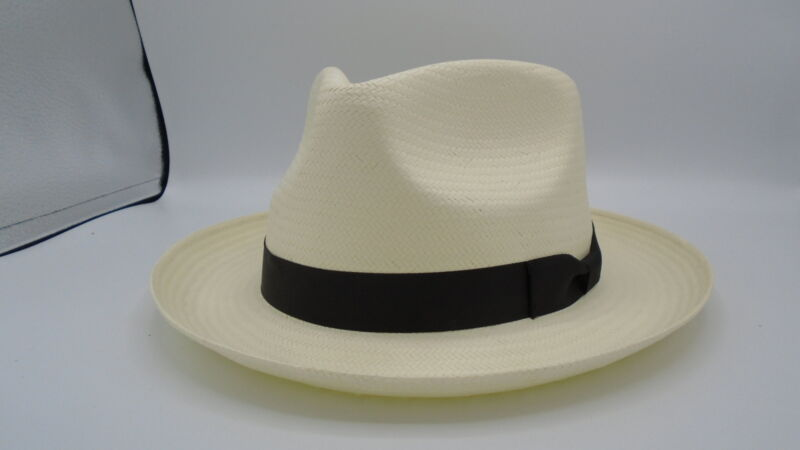 Stetson Reward Shantung Straw Hat (X-Large, Natural)