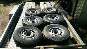 4x4 tyres with rims nissan Gawler Gawler Area Preview