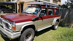 1991 4.2 Turbo Diesel GQ Nissan Patrol Wagon Alexandra Hills Redland Area Preview