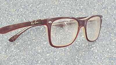 Ray-Ban Tortoise Brown Purple Designer Glasses Frames Classic Look Nerd (Nerd Look Glasses)