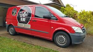 Well Established 'Mobile Coffee Van' Business For Sale!!!