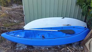 Blue kayak Wynnum West Brisbane South East Preview