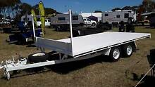 2 TONNE FLAT BED TRAILER Adelaide CBD Adelaide City Preview