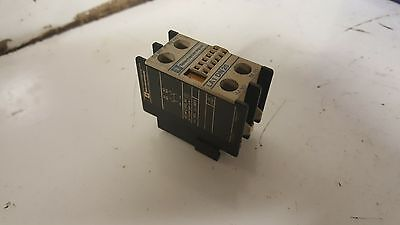 Telemecanique Auxiliary Contact, # LA1 DN 20, LAD1N20, Used, Warranty